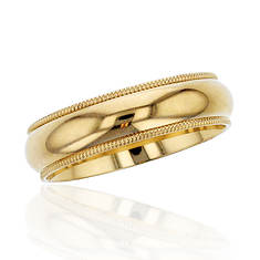 14K Gold Comfort-Fit 5mm Wedding Band