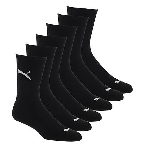 PUMA Men's P112490 Crew 6-Pack Socks