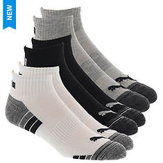 PUMA Men's P112487 Quarter 6-Pack Socks