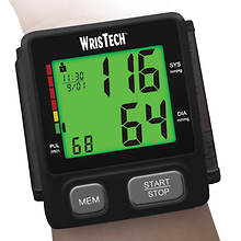 Wristech Color Coded Blood Pressure Monitor