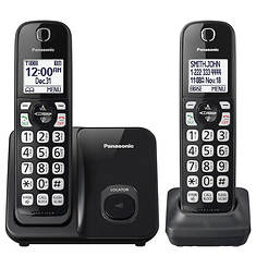 Panasonic Cordless Phone with 2 Handsets
