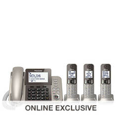 Panasonic Digital Phone System with 3 Handsets