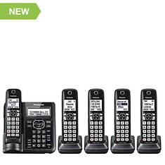 Panasonic Cordless Phone with 5 Handsets