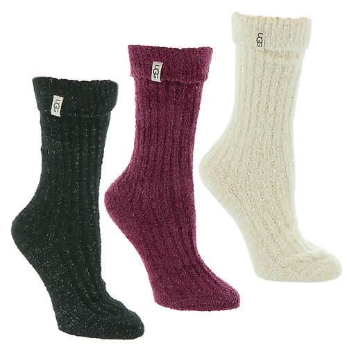 UGG® Women's Cozy Sparkle Sock Gift Set