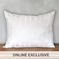 Down-Like Gel Cotton Pillow