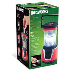 Ideaworks 2-in-1 COB Lantern & Flashlight
