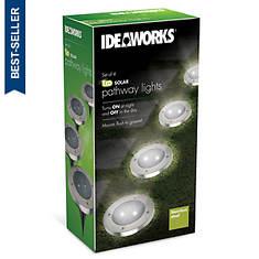 Ideaworks Solar Garden Lights 4-Pack