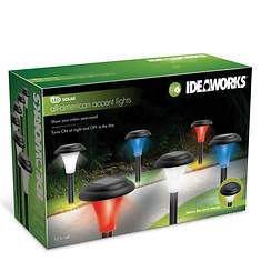 Ideaworks Patriotic Accent Lighting 6-Pack