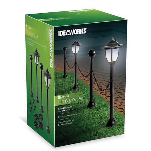 Ideaworks Post & Chain Garden Border