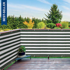 15'Lx3'H Outdoor Privacy Screen