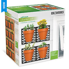 Ideaworks Wall-Mount Planter Kit