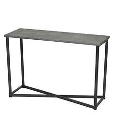 Slate Faux Concrete Sofa Table