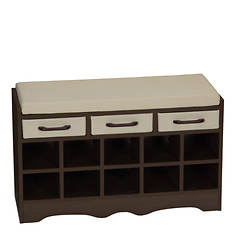 Entryway Storage Bench Seat