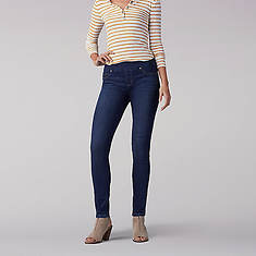 Lee Jeans Women's Sculpting Skinny Leg Pull On Jean