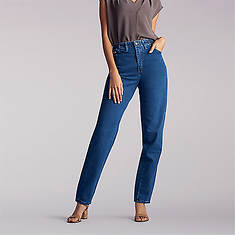 Lee Jeans Women's Side Elastic Tapered Leg Jean