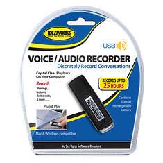 Ideaworks USB Voice & Audio Recorder