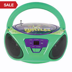 Teenage Mutant Ninja Turtles CD Boombox with AM/FM Radio