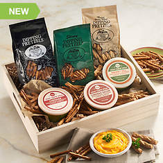Creamy Country® Cheese and Pretzel Crates