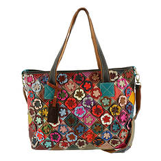 Spring Step HB-Applique Crossbody Bag