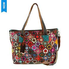 Spring Step HB-Applique Crossbody Bag