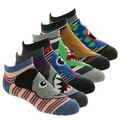 Skechers Boys' S110616 6Pk Infant Non Terry Low Cut Socks