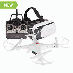 Vivitar Drone with Virtual Reality Headset Combo Kit