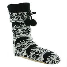 Billabong Women's Winter Bear Slipper Socks