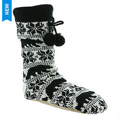 Billabong Women's Winter Bear Slipper Socks
