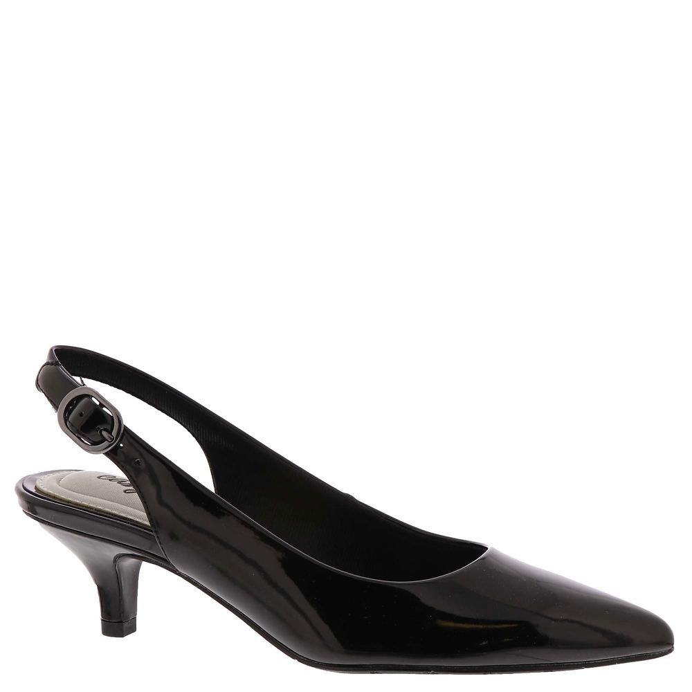1950s Style Shoes | Heels, Flats, Saddle Shoes Easy Street Faye Womens Black Pump 7.5 M $54.95 AT vintagedancer.com
