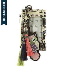 Sakroots Critter Keychain & ID Wallet