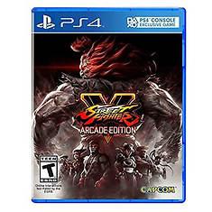 PS4 Street Fighter V Arcade Edition