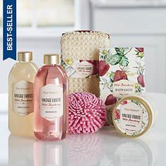 Wild Strawberry 6-Piece Bath Set