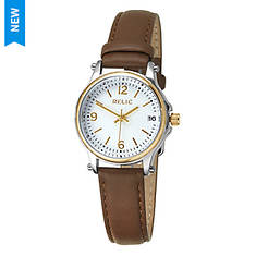 Relic Women's Leather Strap Watch