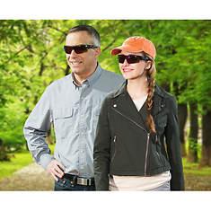 BattleVision 2-Pack HD Polarized Sunglasses
