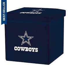 NFL Collapsible Storage Ottoman By Franklin Sports
