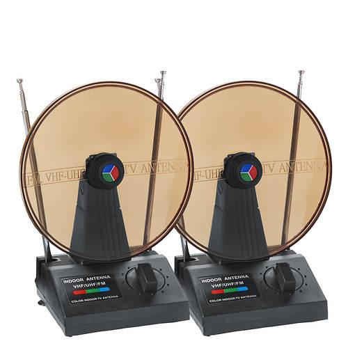 QFX 2-Pack Digital HDTV Antennas