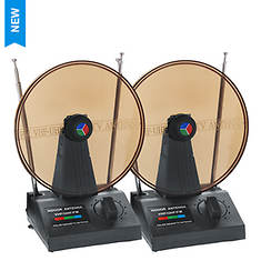 QFX 2-Pack Digital HDTV Antennas