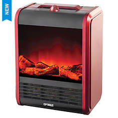 Optimus Mini Fireplace Ceramic Heater - Opened Item