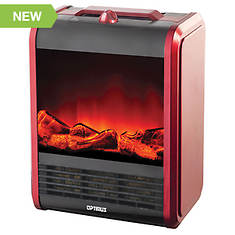 Optimus Mini Fireplace Ceramic Heater