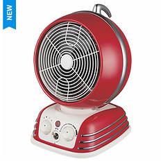 Optimus Retro Oscillating Fan Heater