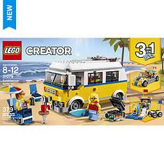 LEGO® Creator 3-In-1 Sunshine Surfer Van 379-Pc. Building Set