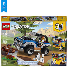 LEGO® Creator 3-in-1 Outback Adventures 225-Pc. Building Set