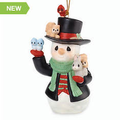 Precious Moments Christmas Cheer For All Snowman Ornament