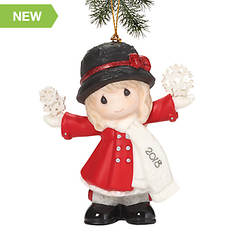 Precious Moments Have a Magical Holiday Season 2018 Dated Girl Ornament