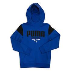 PUMA Boys' Pieced Pullover Hoodie