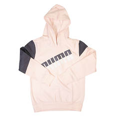 PUMA Girls' Colorblocked Pullover Hoodie