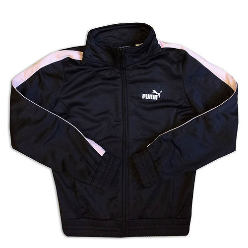 PUMA Girls' Full Zip Track Jacket