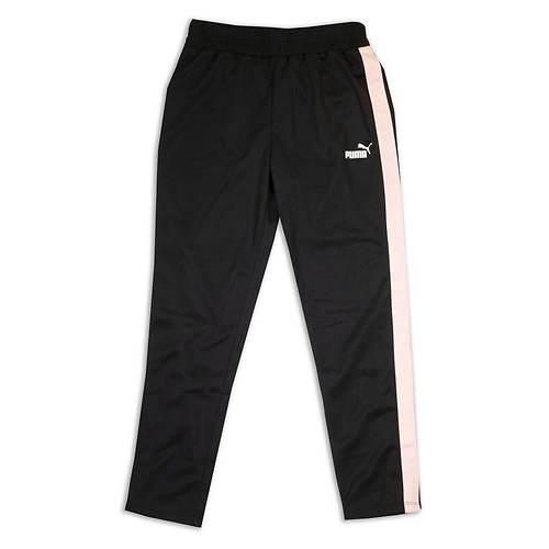 PUMA Girls' Side Stripe Track Pant