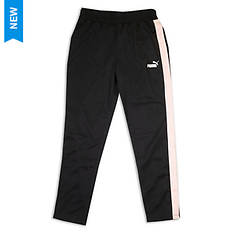 PUMA Girls' Side Stripe Track Pant