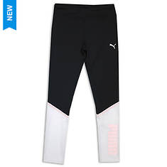 PUMA Girls' Color Blocked Leggings